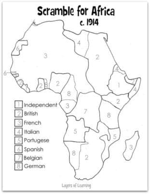 scramble of africa The module gives an overview of british imperialism in africa by focusing on the extraordinary story of cecil rhodes it describes his conquest of matabeleland, and.