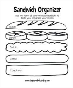 Sandwich Report Organizer0006