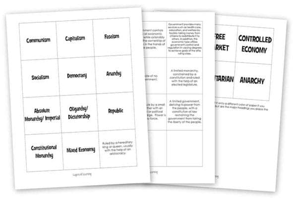 Government_match_game_printable