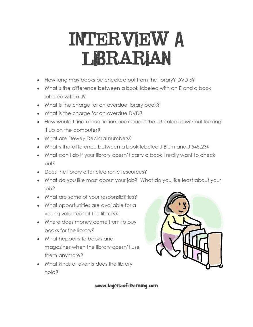 Interview A Librarian