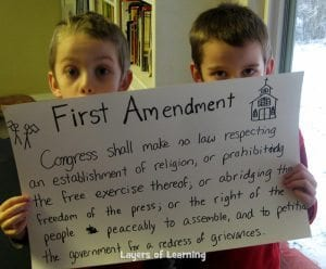 Learn about the First Amendment.