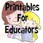 Printables For Educators