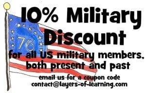 layers military discount