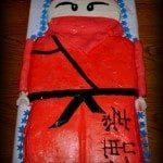 Ninjago birthday cake {not so easy}