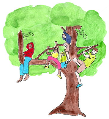 kids_in_tree_