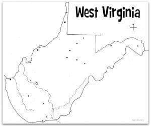 West-Virginia-Map