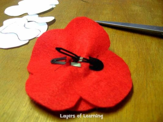 Veterans Day Poppy Craft