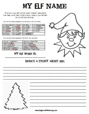 christmas creative writing printables Tons of creative writing topics for kids to practice their writing use for daily journal or writing lessons.