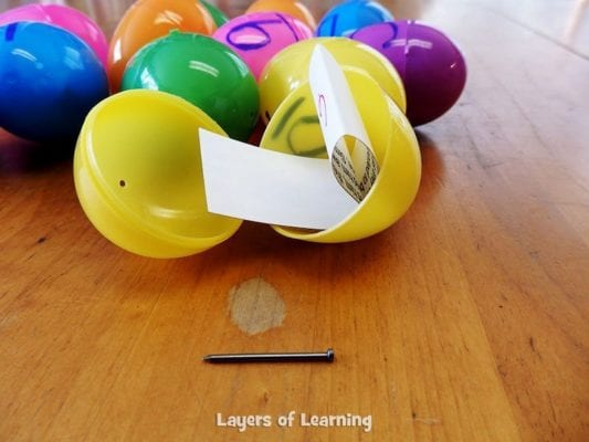 This is a printable kit that you can assemble in ten minutes and use year after year to create a playful way to tell the true Easter Story to kids.
