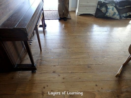 plywood floors update