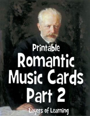 Romantic Music Cards, Part 2